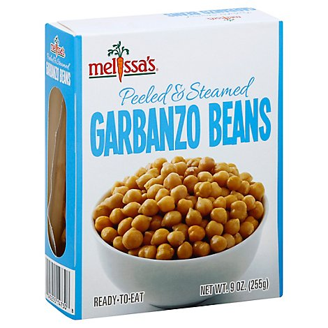 Garbanzo Beans Peeled & Steamed - 9 Oz