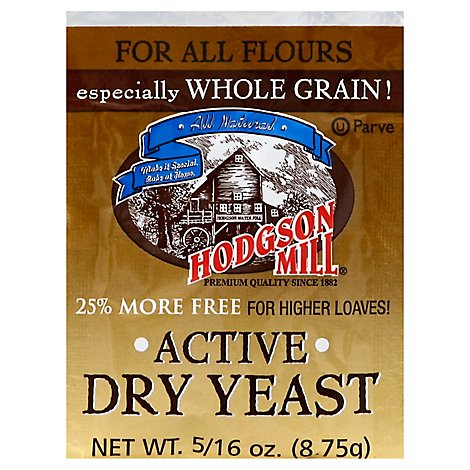 Hodgson Mill Yeast Active Dry - .31 Oz