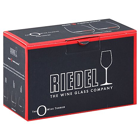 Riedel The O Wine Tumbler Glasses Cabernet Merlot - 2 Piece