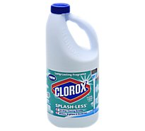 Clorox Bleach Concentrated Splash Less Clean Linen Jug - 55 Fl. Oz.