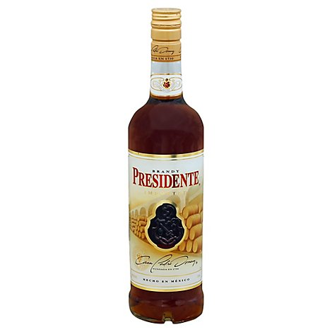 Presidente Imported Brandy 80 Proof - 750 Ml