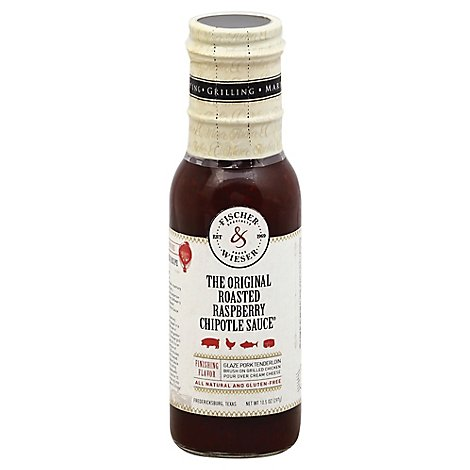 Fischer & Wieser Sauce Chipotle The Original Roasted Raspberry - 10.5 Oz