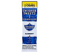 Swisher Sweets Cigarillos Blueberry - 2 Package