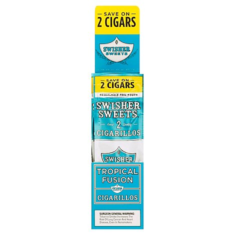 Swisher Sweets Cigarillos Tropical - 2 Package