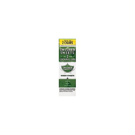 Swisher Sweets Cigarillos Green - 2 Package