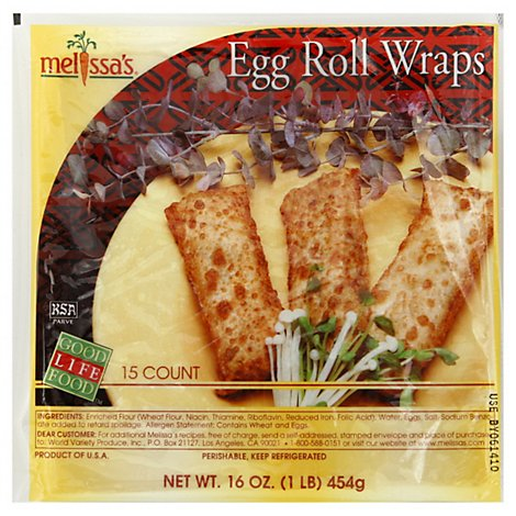 Wing Hing Egg Roll Wraps - 16 Oz