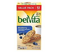 belVita Breakfast Biscuits Blueberry - 12-1.76 Oz