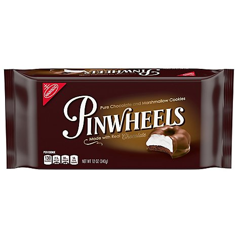 Pinwheels Cookies Fudge and Marshmallow - 12 Oz
