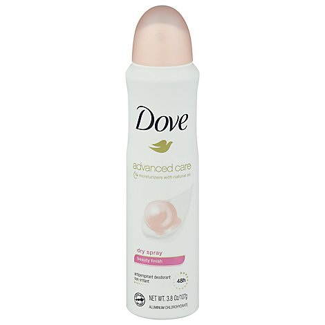 Dove Anti-Perspirant Deodorant Dry Spray 48H Beauty Finish - 3.8 Oz