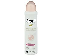 Dove Advanced Care Antiperspirant Deodorant Dry Spray Beauty Finish - 3.8 Oz