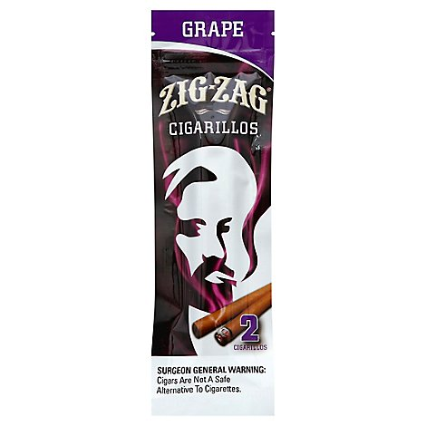 Zig Zag Cigarillos Grape - 2 Package