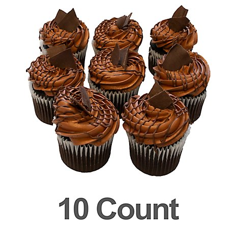 Bakery Cupcake Hersheys 10 Count - Each