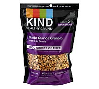 KIND Healthy Grains Clusters Maple Quinoa with Chia Seeds - 11 Oz