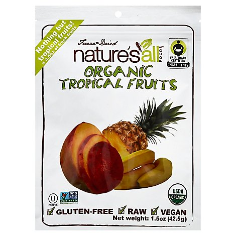 Natures All Foods Organic Tropical Fruits Freeze-Dried - 1.5 Oz