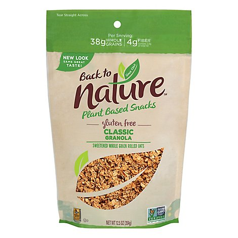 back to NATURE Granola Gluten-Free Classic - 11 Oz