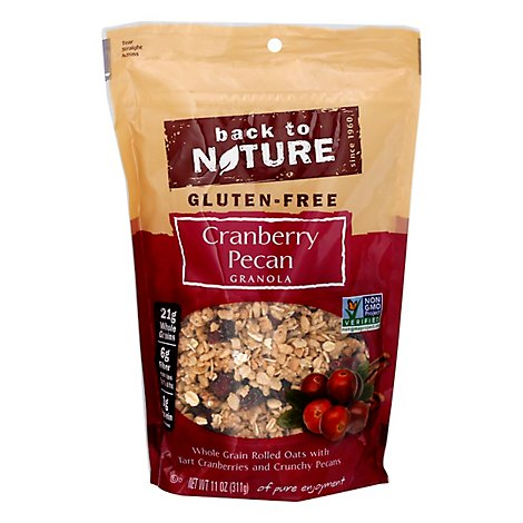 back to NATURE Granola Gluten-Free Cranberry Pecan - 11 Oz