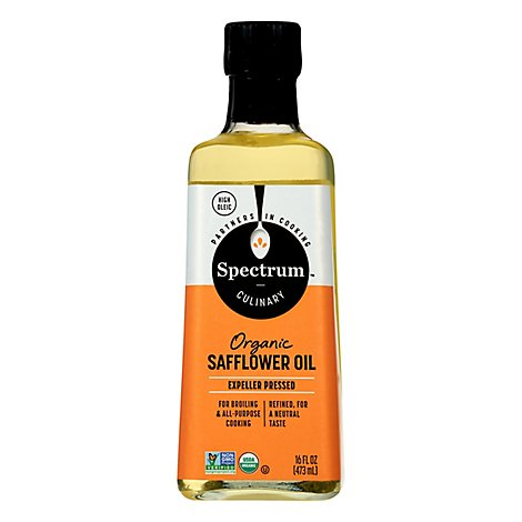 Spectrum Safflower Oil Organic Refined - 16 Fl. Oz.