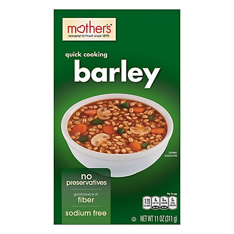 Mothers Cereal Barley Quick - 11 Oz