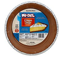 MI-DEL Pie Crust Gluten Free Ginger Snap - 7.1 Oz