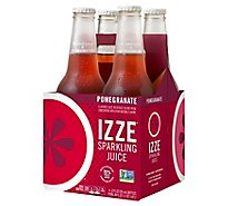 IZZE Beverage Sparkling Pomegranate - 4-12 Fl. Oz.