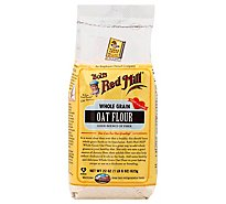 Bobs Red Mill Flour Oat Whole Grain - 22 Oz