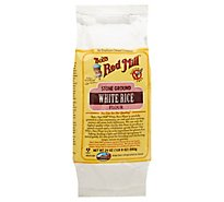 Bobs Red Mill White Rice Stone Ground Flour - 24 Oz