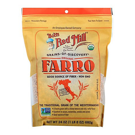 Bobs Red Mill Grain Farro - 24 Oz
