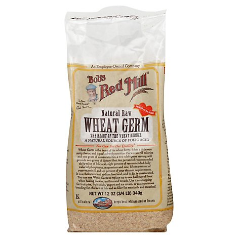 Bobs Red Mill Wheat Germ - 12 Oz