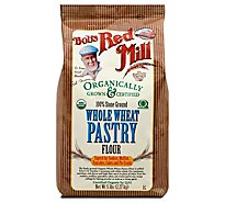 Bobs Red Mill Flour Pastry Whole Wheat Organic - 5 Lb