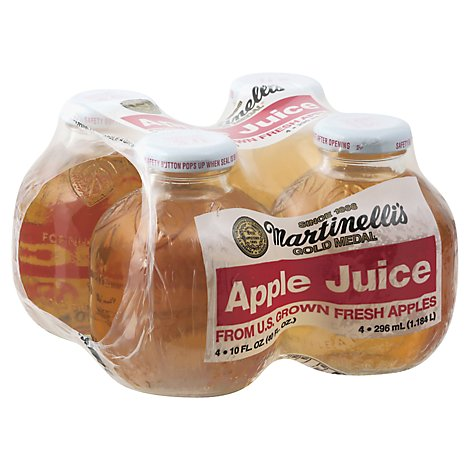 Martinellis Gold Medal 100% Juice Pure Apple - 4-10 Fl. Oz.