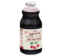 Lakewood Organic Juice Cherry Tart Pure - 32 Fl. Oz.