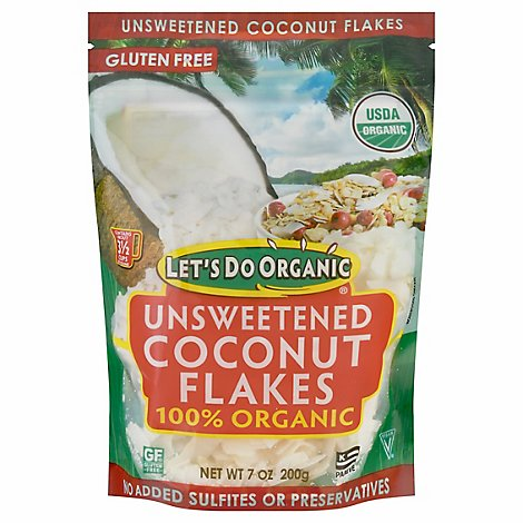 Lets Do Organic Coconut Flakes - 7 Oz