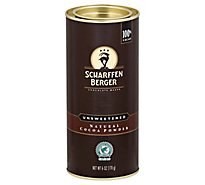 SCHARFFEN BERGER Cocoa Powder Unsweetened - 6 Oz