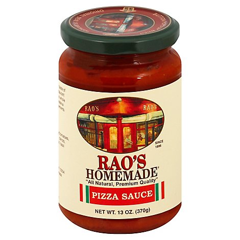 Raos Homemade Sauce Pizza Jar - 13 Oz