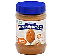 Peanut Butter & Co. Peanut Butter Cream Smooth Operator Jar - 16 Oz