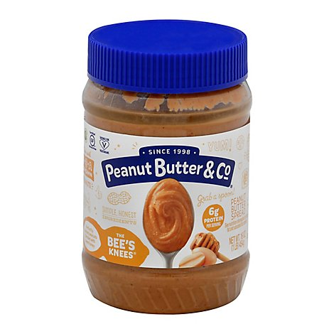 Peanut Butter & Co Peanut Butter Spread The Bees Knees - 16 Oz