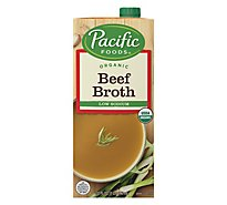 Pacific Organic Broth Beef Low Sodium - 32 Fl. Oz.