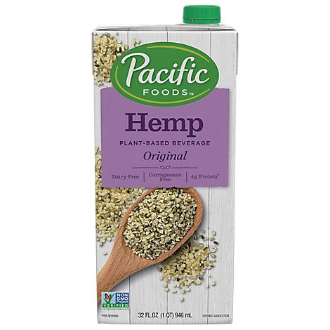 Pacific Foods Hemp Milk Original - 32 Oz