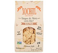 Xochitl Corn Chips Mexican Style White Sea Salt - 16 Oz