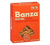 Banza Rotini Pasta Made From Chickpeas - 8 Oz
