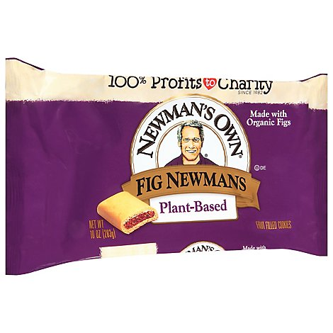 Newmans Own Organics The Second Generation Cookies Fig Newmans - 10 Oz