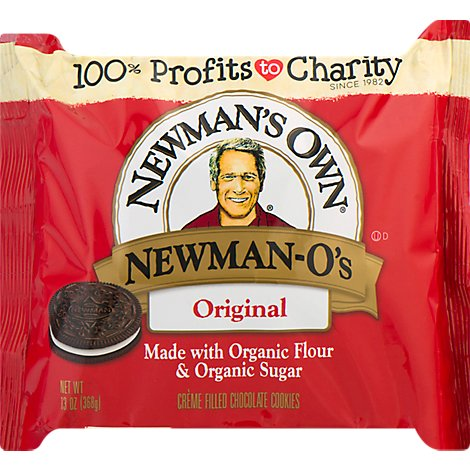 Newmans Own Organics The Second Generation Cookies Newman-Os Chocolate - 13 Oz