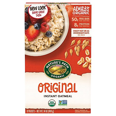 Natures Path Organic Oatmeal Original - 14 Oz