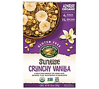 Natures Path Organic Sunrise Cereal Gluten Free Crunchy Vanilla - 10.6 Oz