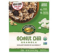 Natures Path Organic Granola Coconut Chia - 12.34 Oz