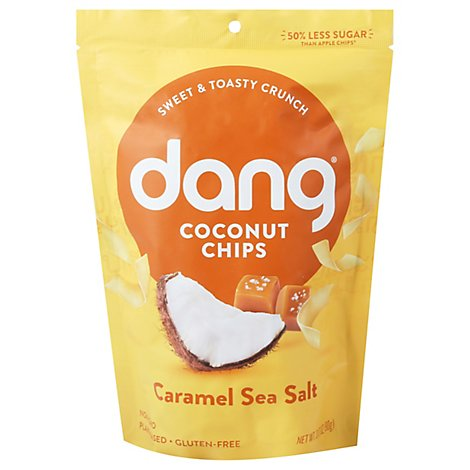 Dang Coconut Chips Toasted Caramel Sea Salt - 3.17 Oz