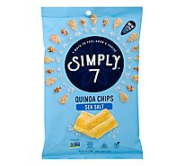 Simply 7 Quinoa Chips Sea Salt - 3.5 Oz