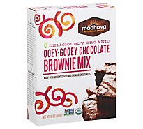 Madhava Brownie Mix Ooey-Gooey Chocolate - 18 Oz