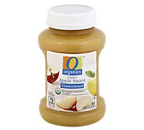 O Organics Organic Apple Sauce Unsweetened - 23 Oz