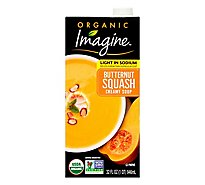 Imagine Organic Soup Creamy Butternut Squash Light In Sodium - 32 Fl. Oz.